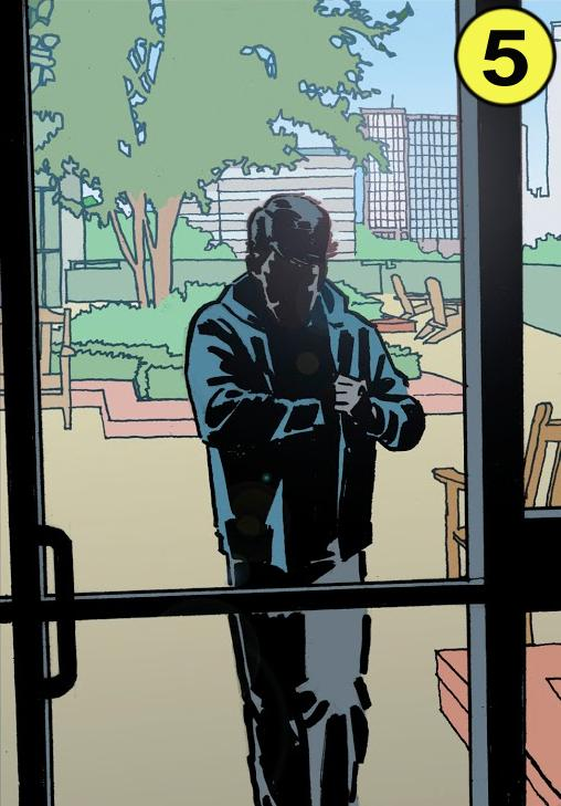 Scene from Batman Creature Of The Night book 4, copyright 2019 DC Comics