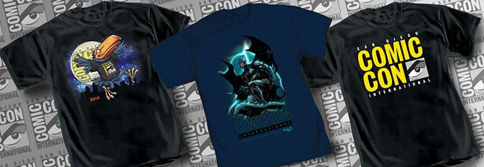 Comic-Con International 2014 OFFICIAL T-shirts