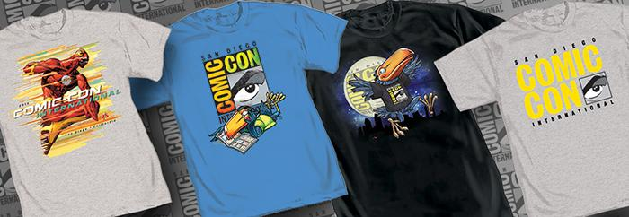 Official Comic-Con International 2015 T-Shirts