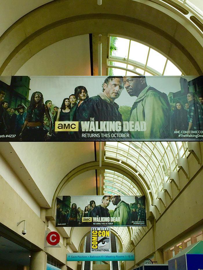 Walking Dead Banners