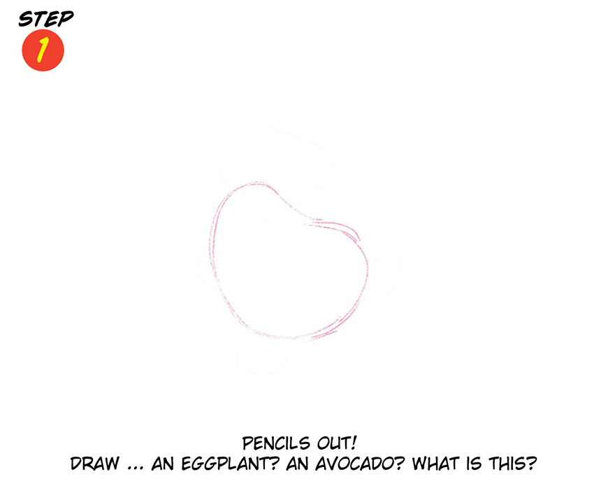 Katie Cook 039: How to Draw a Goldfish!