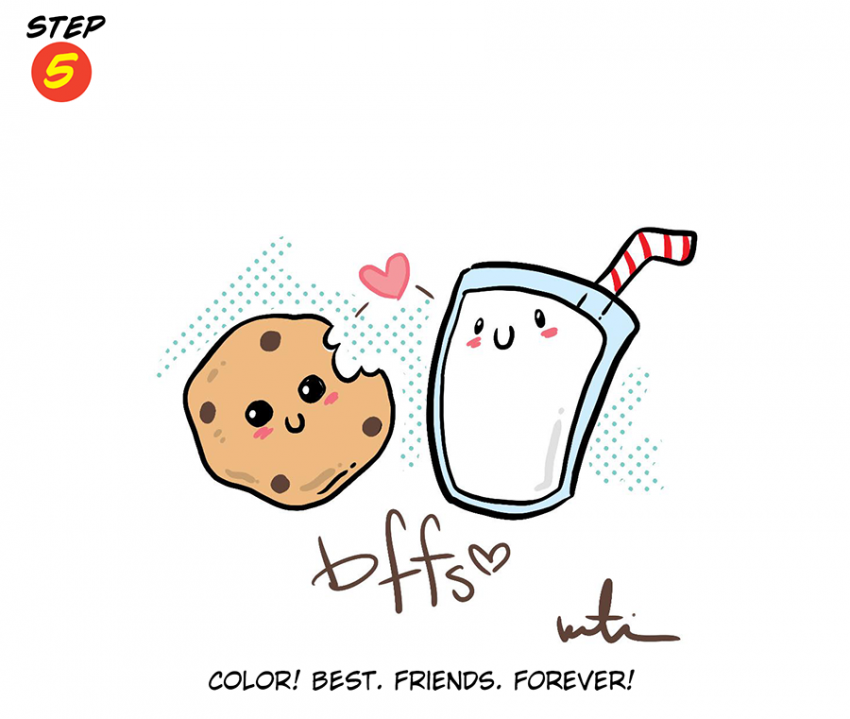Katie Cook: How to Draw BFFs!