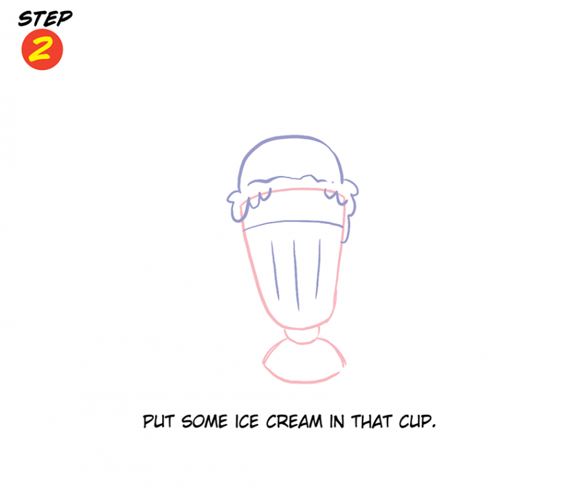 Katie Cook: How to Draw Fancy Ice Cream