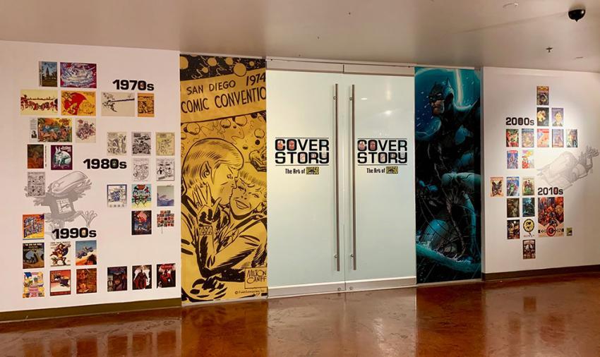 Comic-Con and the Comic-Con Museum present Cover Story: The Art of Comic-Con 50