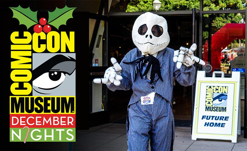 Balboa Park's December Nights at the Comic-Con Museum