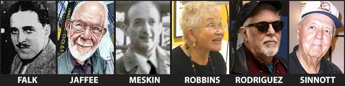 Will Eisner Hall of Fame 2013 Recipients
