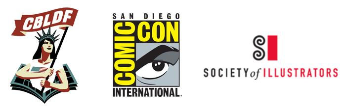 CBLDF, Comic-Con International, Society of Illustrators