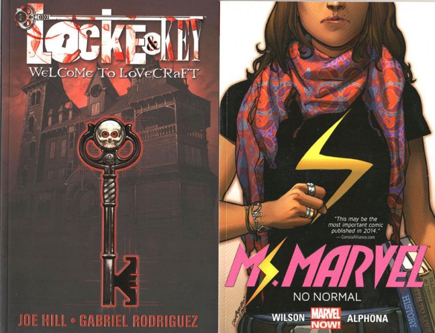 Locke & Key and Ms. Marvel