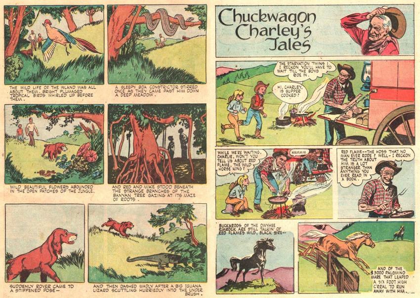 Rover and Chuckwagon Charlie