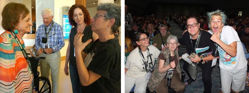 Joye Murchison Kelly at Comic-Con International 2018