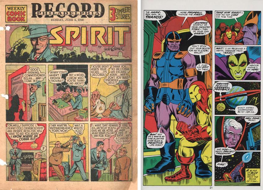 The Spirit and Thanos