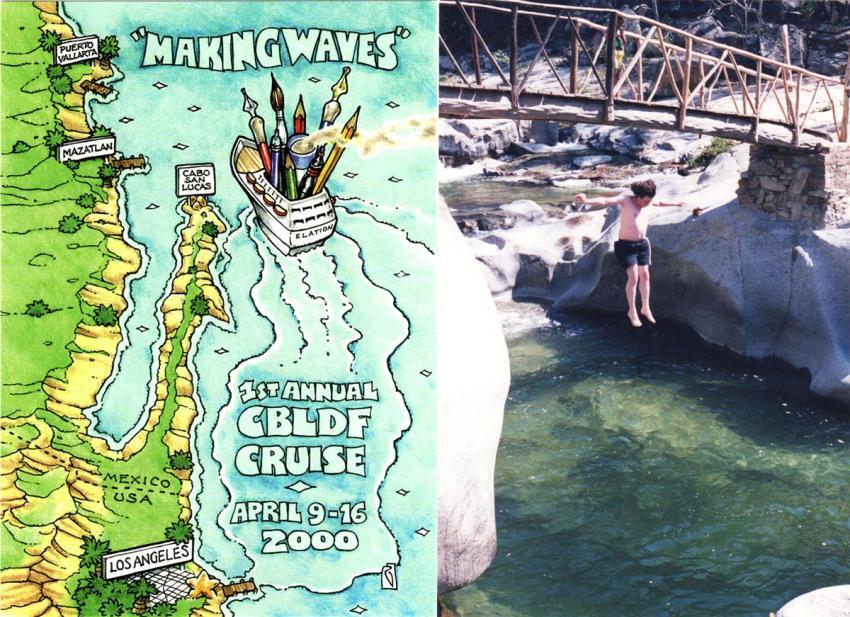 CBLDF 2000 Cruise