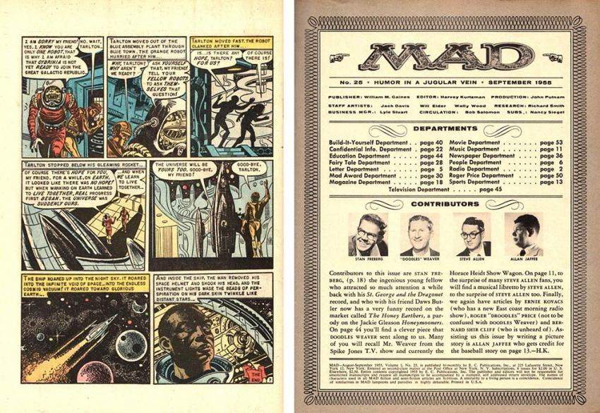 EC Comics and MAD Magazine