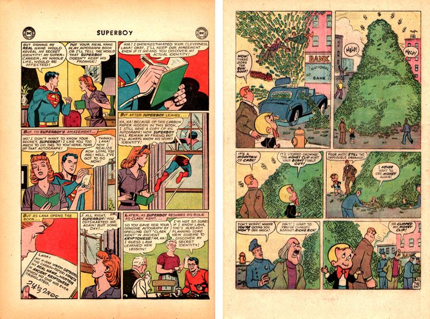 DC's Superboy #112, Richie Rich #148