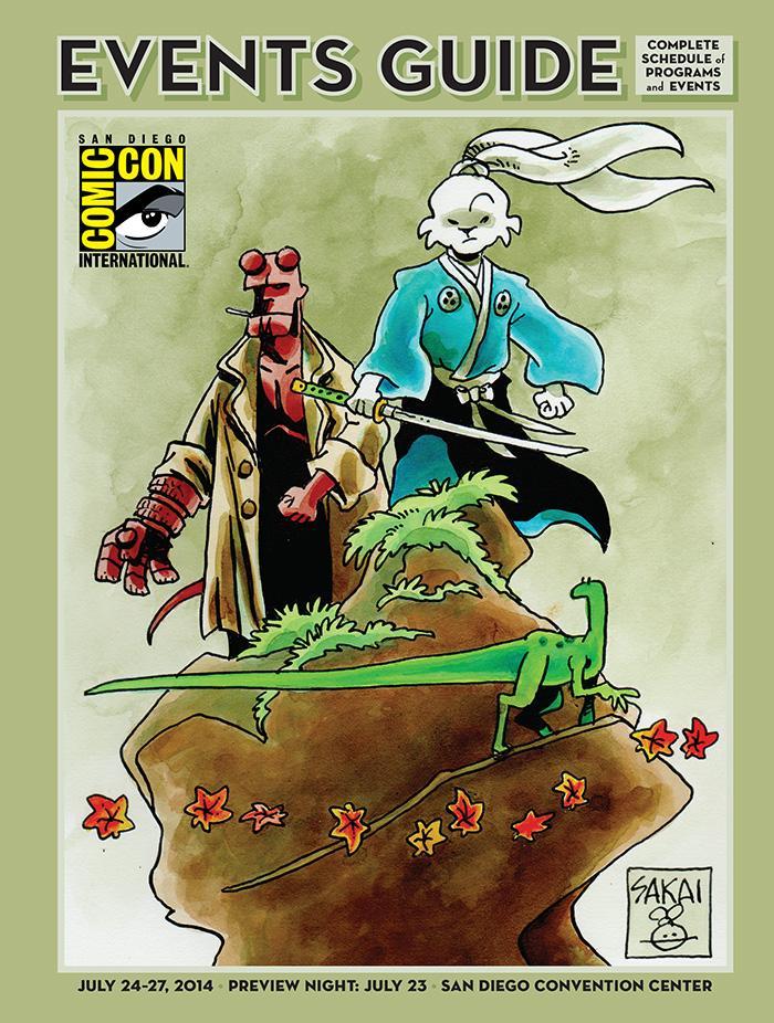 Comic-Con International 2014 Events Guide