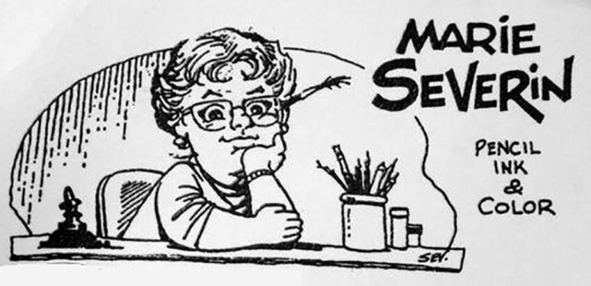 Marie Severin Business Card