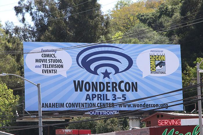 WonderCon Anaheim 2015 Billboard