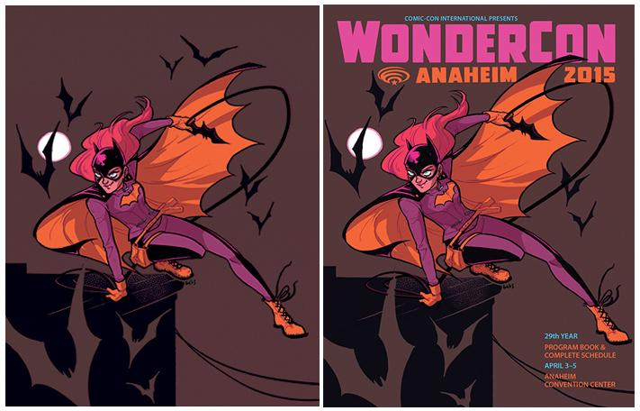 WonderCon Anaheim 2015 Program Book Cover
