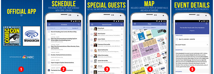 Official Comic-Con App Updated with WonderCon 2016 Information