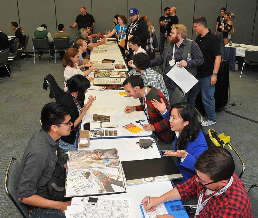 WonderCon Anaheim 2017 Comic Creator Connection
