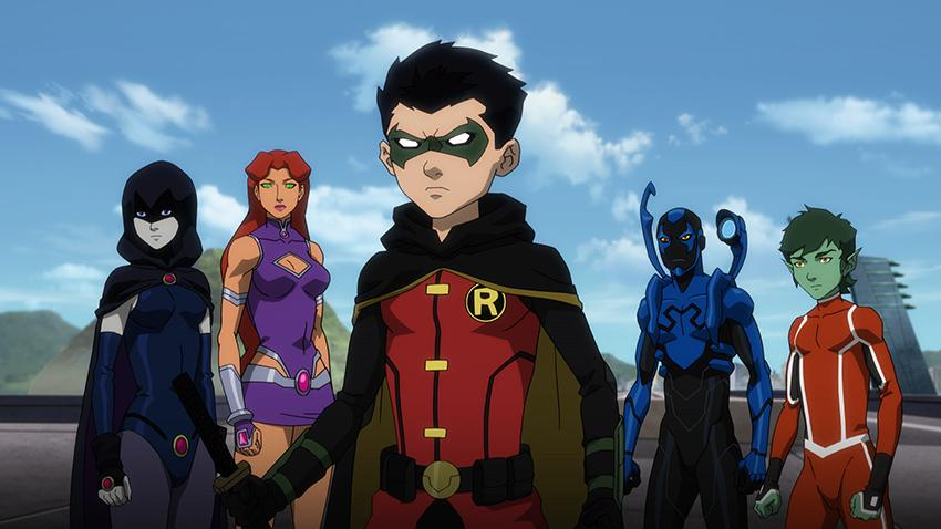 Justice League vs. Teen Titans World Premiere at WonderCon 2016