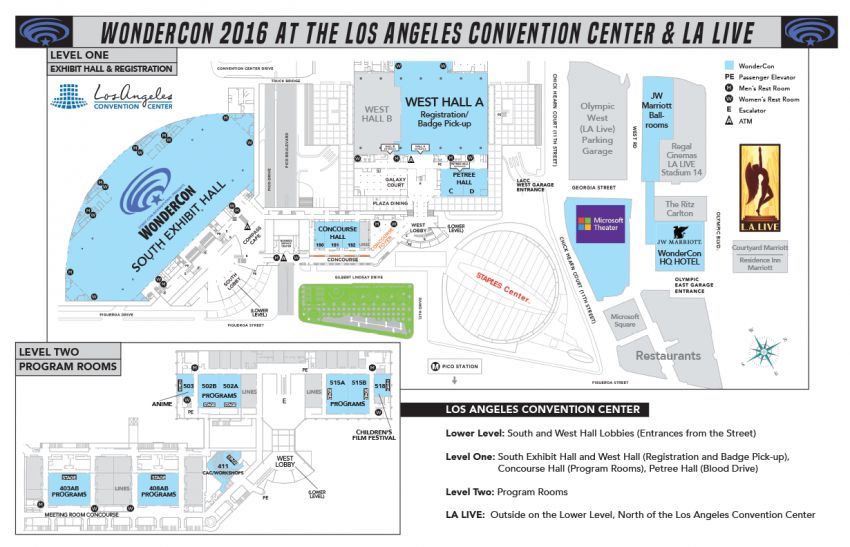 02 WonderCon At The Los Angeles Convention Center