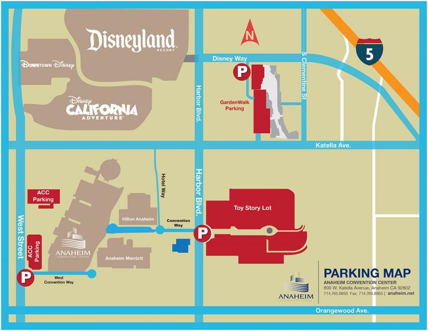 WonderCon Anaheim 2017 Parking