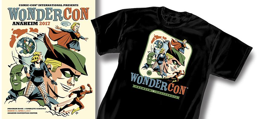 WonderCon Anaheim 2017 Cover and T-shirt Art
