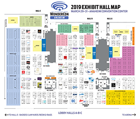 Click to enlarge the Exhibit Hall Map